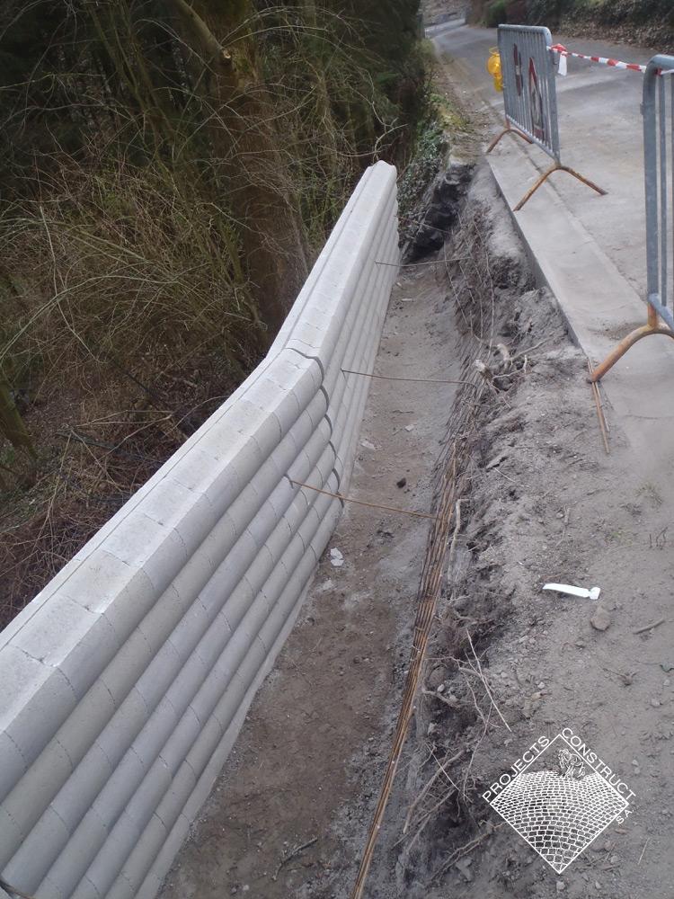 Projects construct s a nous sommes les sp cialistes du for Plafonnage mur exterieur